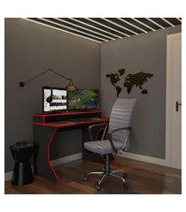 cadeira de escritório diretor giratória reliance cinza