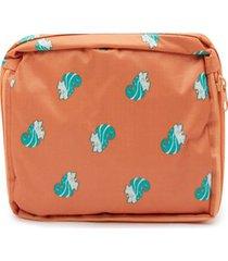 maleta ardillas color naranja, talla uni