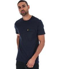 mens nylon pocket t-shirt
