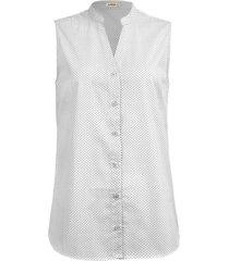 camisa intens sem manga algodã£o branco - branco - feminino - dafiti