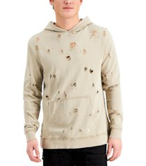 kuwalla tee men's destroyed hoodie
