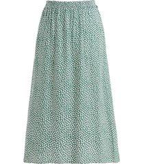 noella noella paja kjol grön/vit blommig