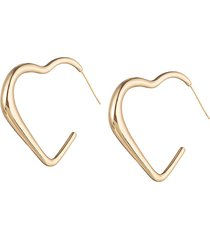 eye candy la women's luxe collection 24k goldplated geometric dangle earrings