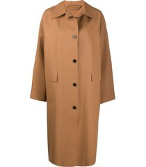 kassl editions original below rubber coat - brown
