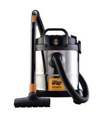 aspirador de pó e água wap 1400w 12l gtw inox - 220v