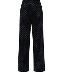 bb all-over logo pants