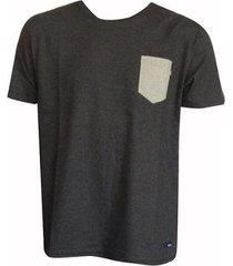 camiseta esp. prime poket black heather oakley