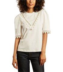 guipure cotton t-shirt