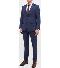 traje formal azul trial