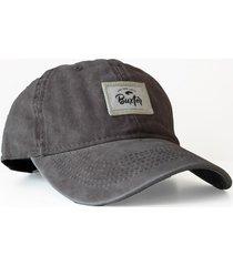 gorra gris buxter cap talls