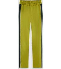 scotch & soda contrast side panel trousers