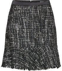 206w1202 kort kjol multi/mönstrad karl lagerfeld