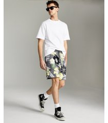 inc men's floral knit shorts, created for macy's