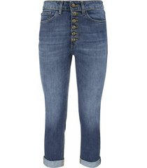 koons - jeans loose fit with jewel buttons
