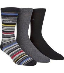 calvin klein men's 3-pk. casual socks