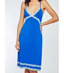 icollection elegant modal ultra soft chemise nightgown, online only