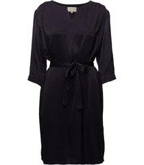 agnete dress kort klänning svart minus
