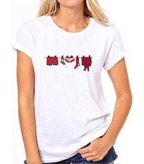camiseta coolest varal feminina