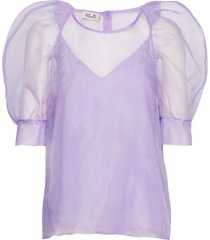maiko blouses short-sleeved paars baum und pferdgarten