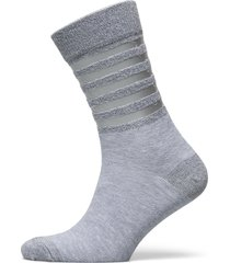 decoy ankle sock transp stripe underwear socks regular socks grå decoy