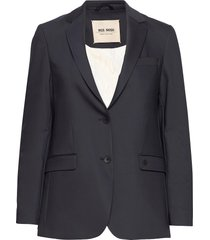 mary night blazer blazers casual blazers blå mos mosh