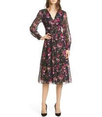 women's ted baker london adriela fern forest long sleeve dress