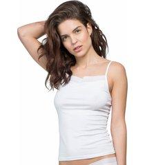 camiseta regata algodão egípcio branco - 578.031 marcyn lingerie camisetas branco