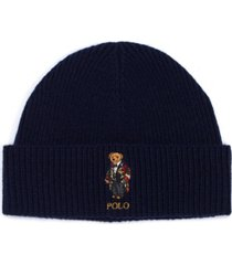 polo ralph lauren men's cold weather bear cuff hat