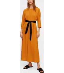mango bow midi dress