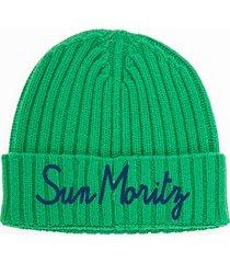 cashmere blend embroidered hat st. moritz
