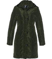 cappotto corto trapuntato (verde) - bpc selection