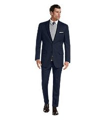 signature collection traditional fit men's suit - big & tall by jos. a. bank