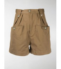 isabel marant étoile high-waist shorts
