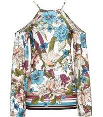 maglia con maniche a campana (bianco) - bodyflirt boutique