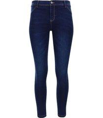 jean skinny color azul, talla 10