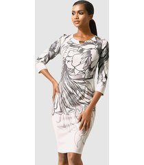 jurk alba moda grijs