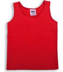 camiseta esqueleto bayetilla roja santana x2 unidades