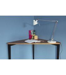biurko narożne naja dębowe 114 cm x 85 cm