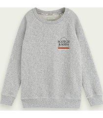 scotch & soda organic cotton crew neck sweater