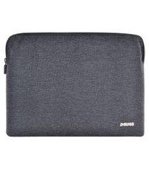 case para notebook pcyes traveltech-ts-13 preto e cinza claro