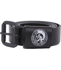 cinturon b arre belt negro diesel