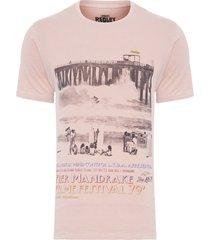t-shirt masculina mandrakes - rosa