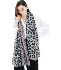 sciarpa calda casuale di scialle della sciarpa dello scialle della sciarpa e del cotone del leopardo molle e comode delle donne di 185cm