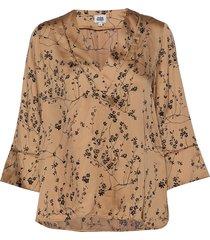 nell blouse blouse lange mouwen crème twist & tango