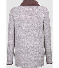sweatshirt dress in ljung::offwhite