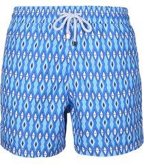 pantaloneta azul steam diamond