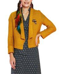 lynx knit jacket