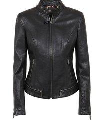 philipp plein leather jacket iconic plein
