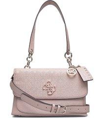 chic shine shoulder bag bags small shoulder bags - crossbody bags rosa guess