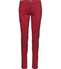 pacasual 1 pants skinny jeans röd fransa
